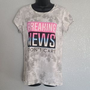 "Wound Up ""Breaking News I Dont Care"" T-Shi…"